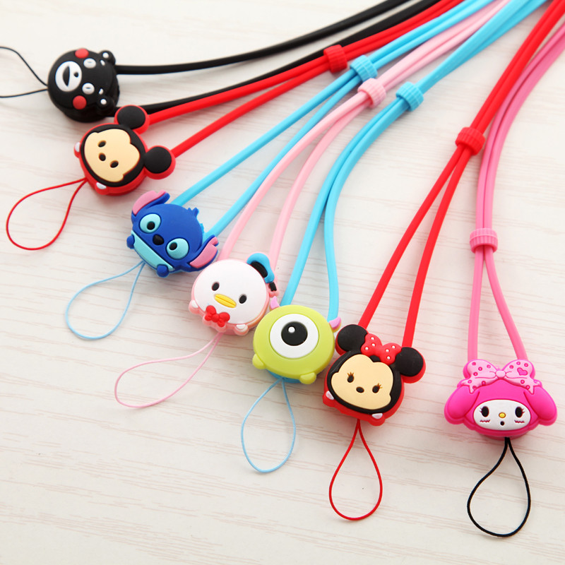 手机挂绳 Silicone phone neck lanyard (3)